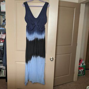 Jessica Simpson Blue Tie Dye Dress Plus Size 3X